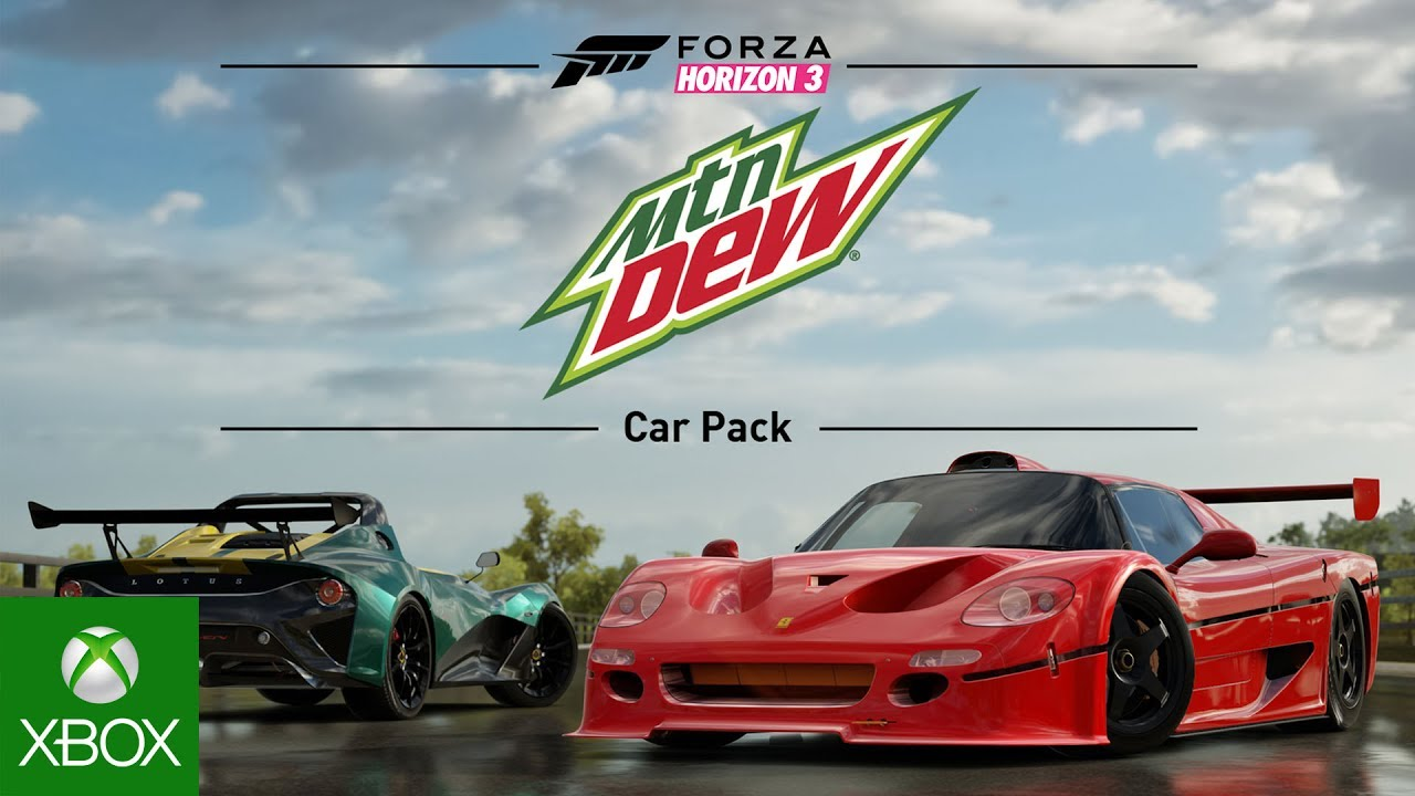Mountain Dew Car Pack Image