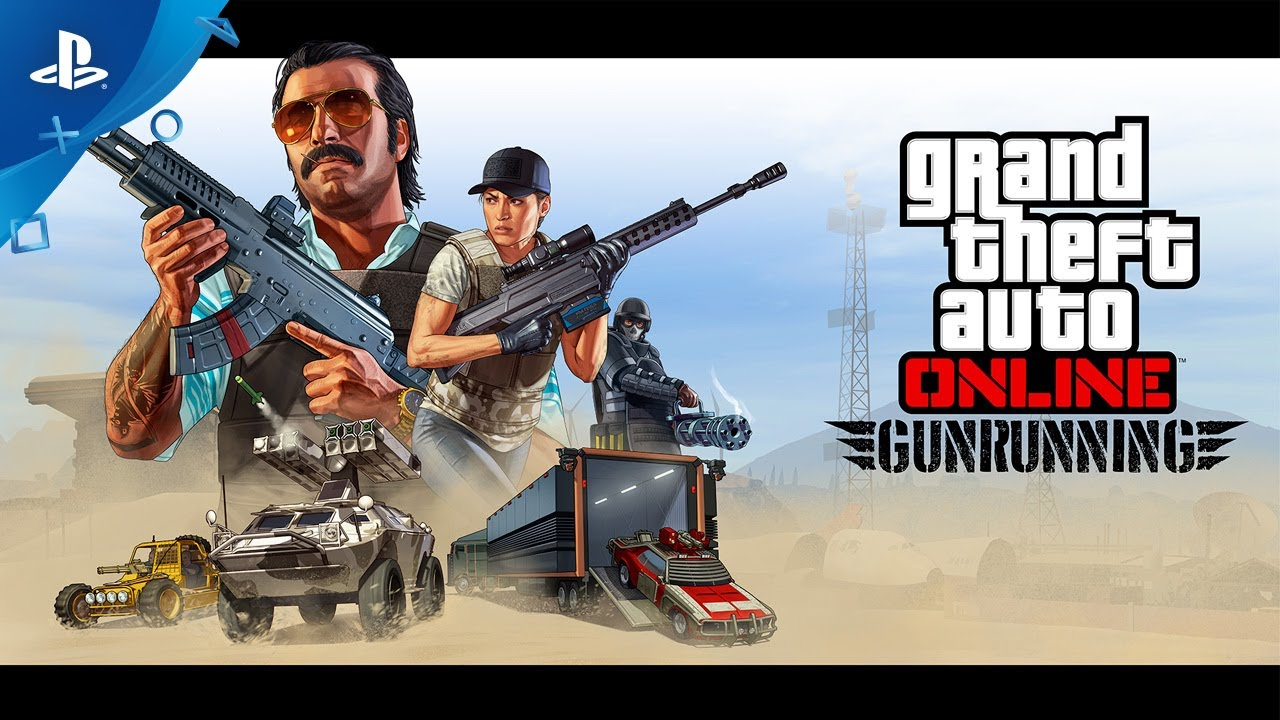 Photo of GTA Online's New Update, Gunrunning, Will Be Available On PS4 on June 13th