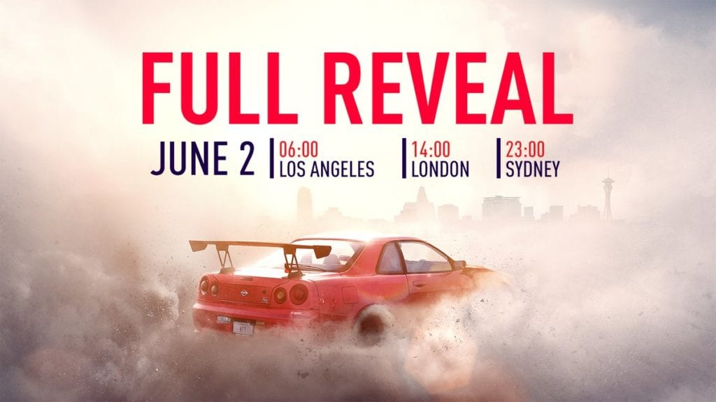 Need for Speed will be fully Revealed Tomorrow