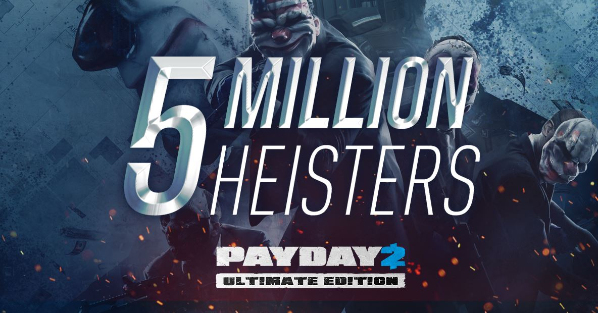 payday 2 5 million players