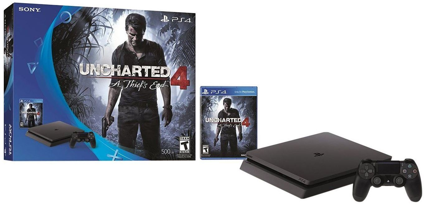 ps4 slim uncharted 4 bundle