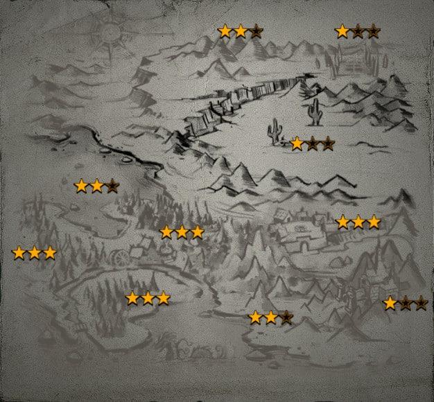 Siltbreaker Act 1 Achievement Map