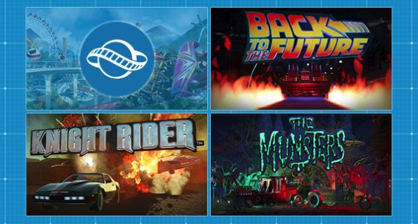planet coaster back to the future dlc knight rider dlc the munsters dlc