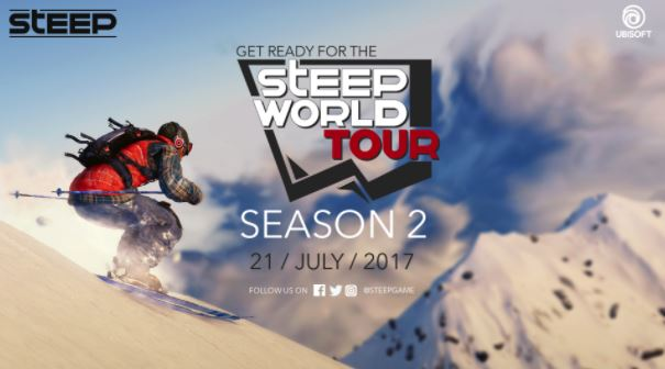 Photo of Steep World Tour Season 2 Starts on July 21, Here is the Agenda