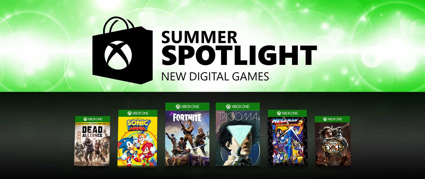xbox one summer spotlight games