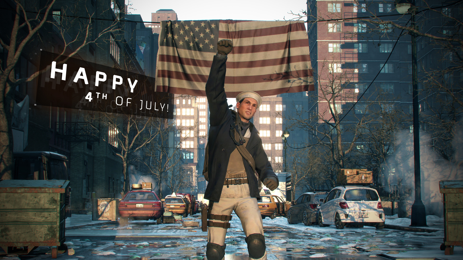 Photo of The Division: Emote, Uniform and Special Events to Celebrate 4th of July