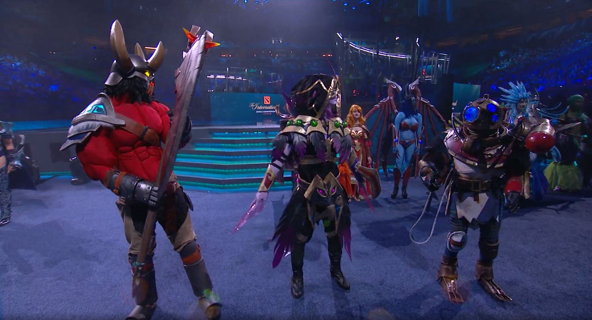 this year s dota 2 ti 7 cosplay was just meh future game