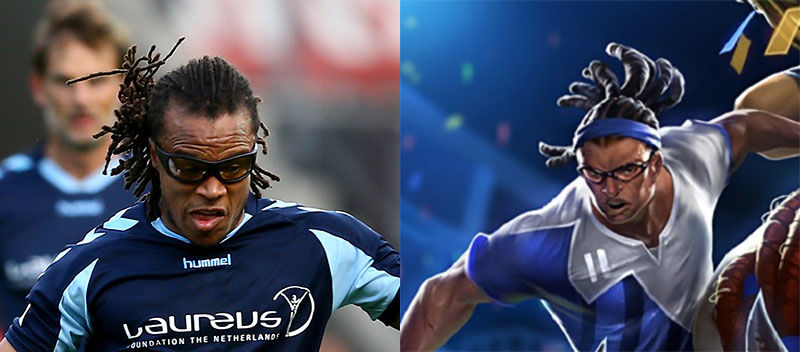 Photo of League of Legends Fans are Going Mad at Edgar Davids For Sueing Riot Over Striker Lucian Skin
