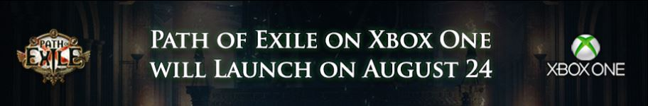 path of exile release date xbox one