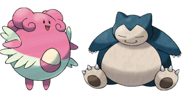 snorlax blissey legendary pokemon