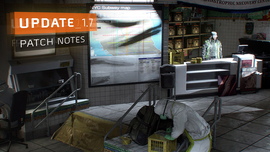 Photo of The Division Update 1.7 Comes Tomorrow Adding Classified Gear Sets and Global Events