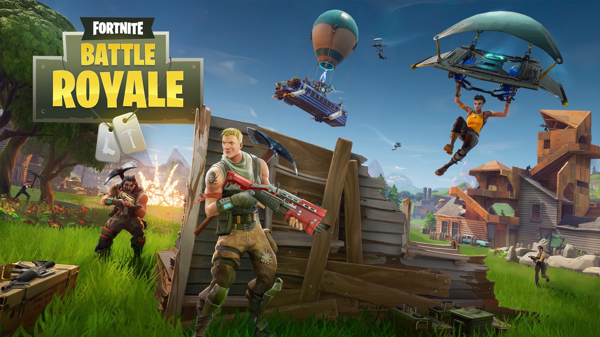 Photo of Fortnite BR is on PUBG's tail, Surpassed 2 million concurrent players