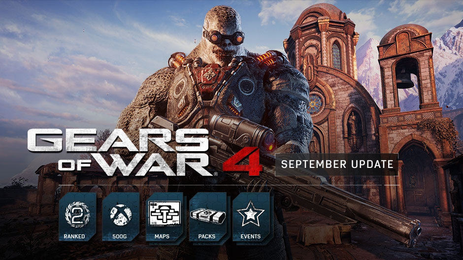 Photo of Gears of War 4 September Update Improves Matchmaking and Adds New Maps