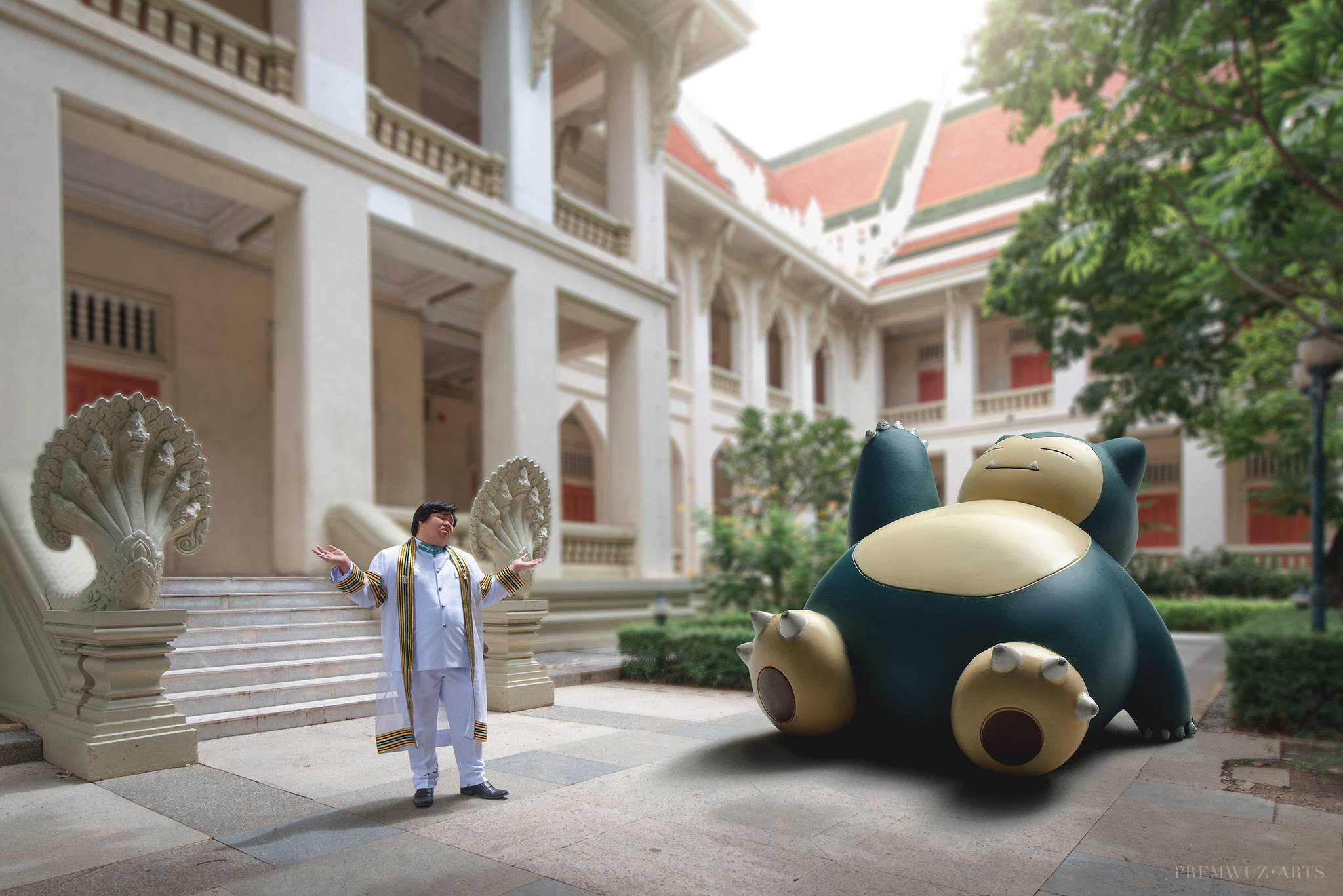 Photo of Pokemon-Themed Graduation Photo Shoot in Thailand is Now a Thing