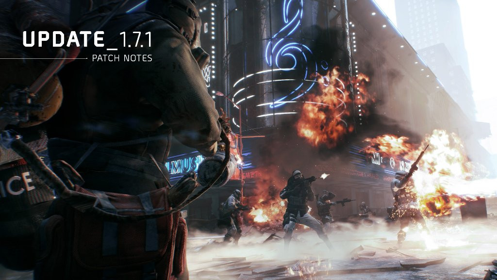 Photo of The Division Launches Patch 1.7.1, Preparing Itself for Resistance, 1.8