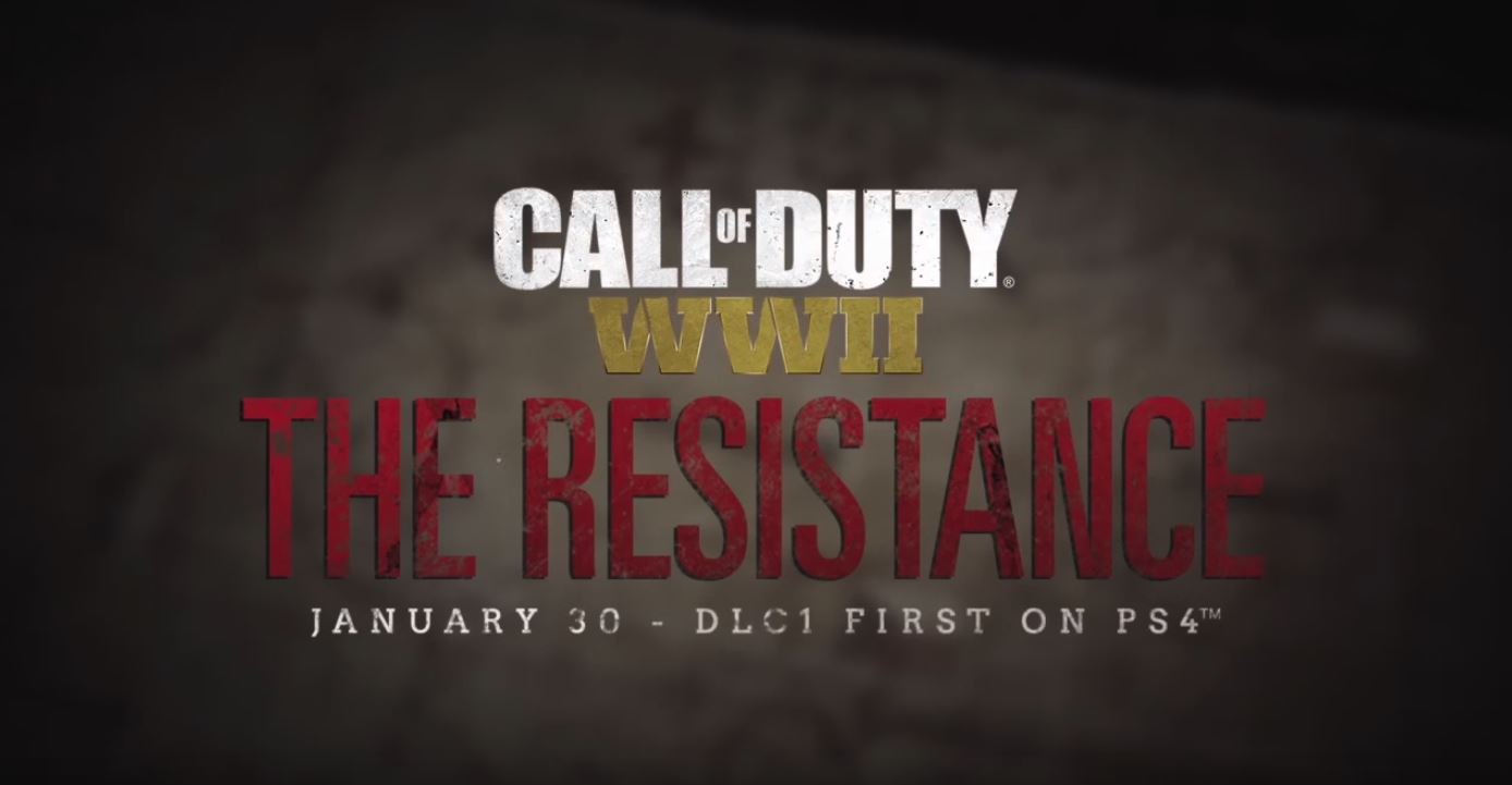 "Photo of Call of Duty: WWII ""The Resistance"" Coming to PlayStation 4 first, Available on January 30"