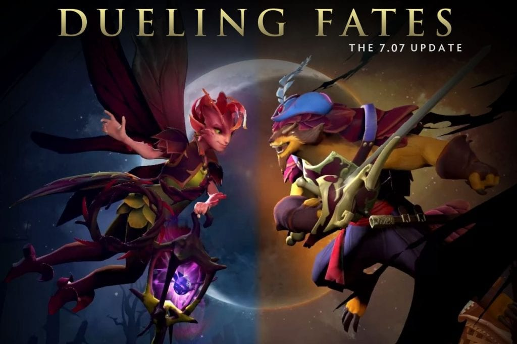 Dota 2 Dueling Fates Update 7.07