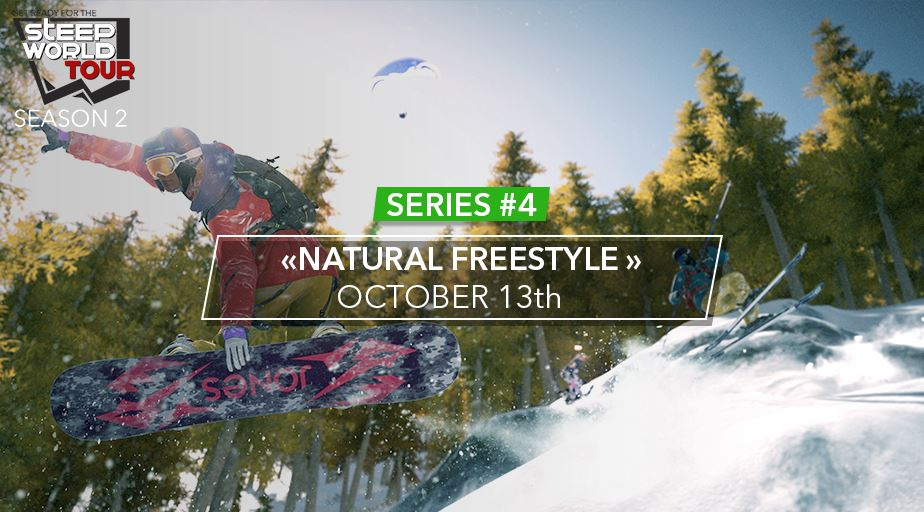 Photo of Ubisoft Hosts New Steep World Tournament called Natural Freestyle