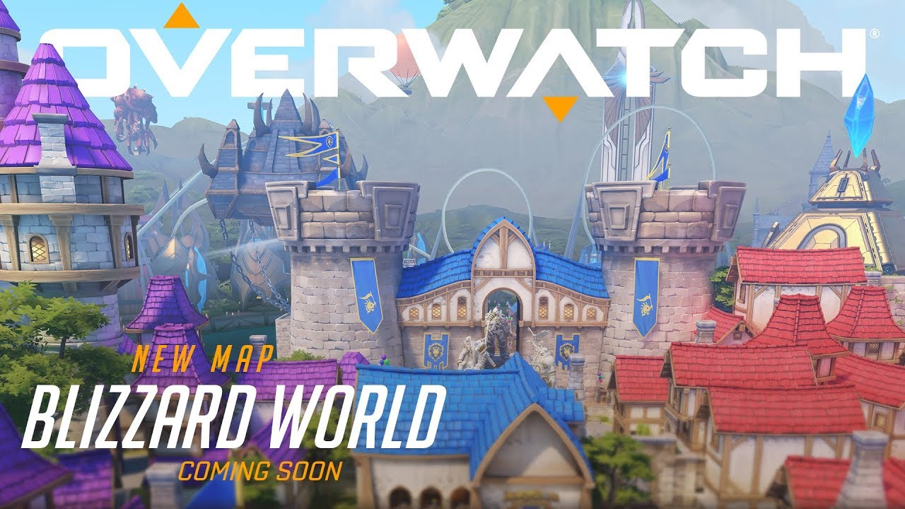 Photo of Overwatch's New Blizzard World Theme Map Looks Amazing