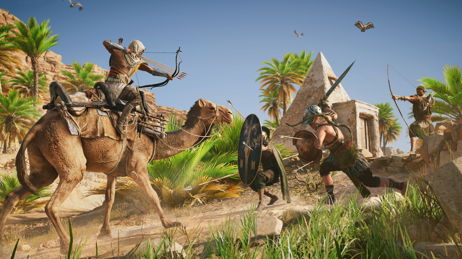 Photo of Assassin's Creed Origins: The Discovery Tour Mode is now available, stuttering issues fixed