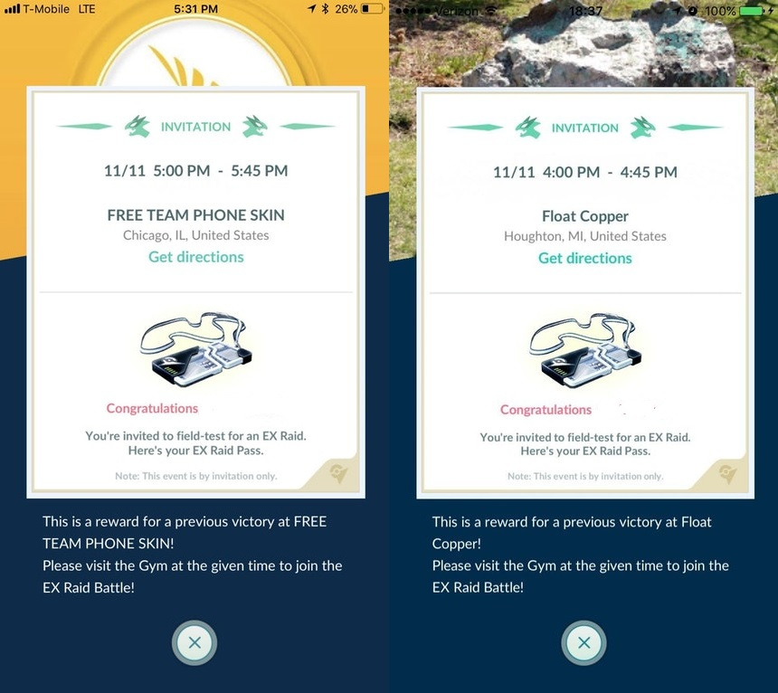 Photo of New Wave of EX Raid Invitation Just Went Live, Check Your App Now