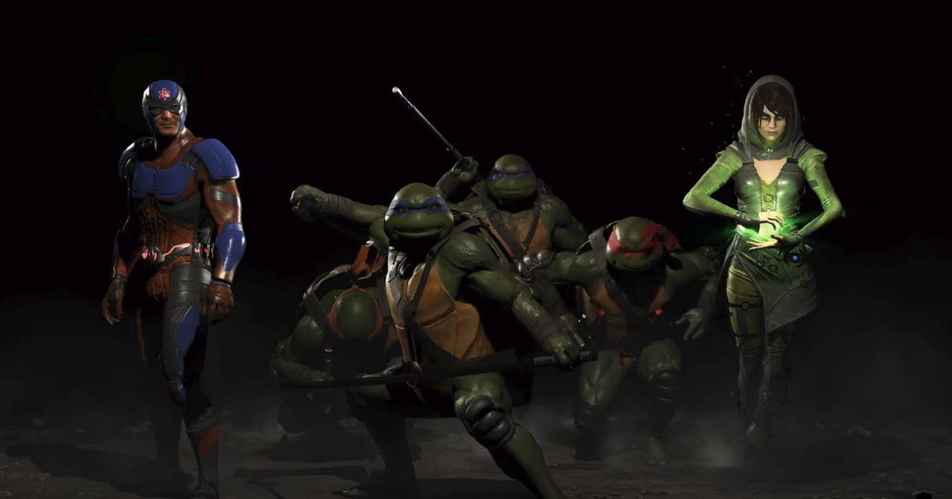 Photo of Injustice 2 Fighter Pack 3 Brings Atom, Enchantress and The Teenage Mutant Ninja Turtles