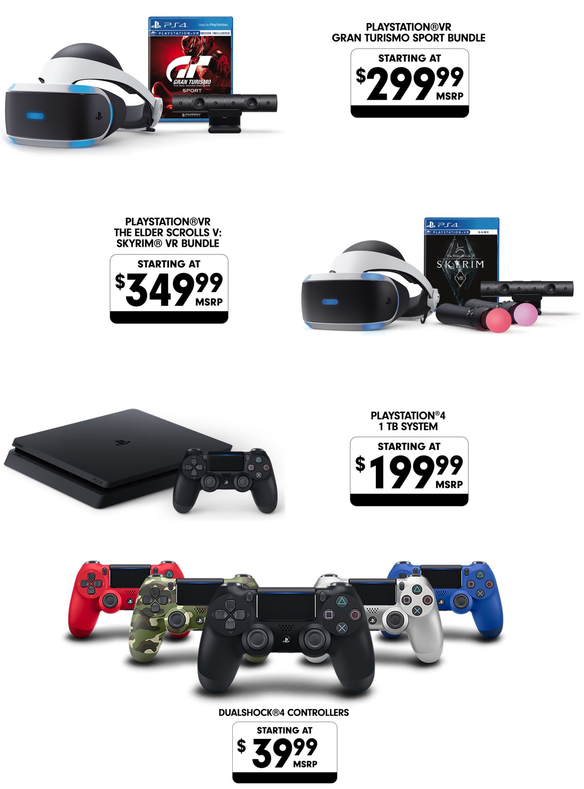 ps vr ps4 ps plus black friday cyber monday deals