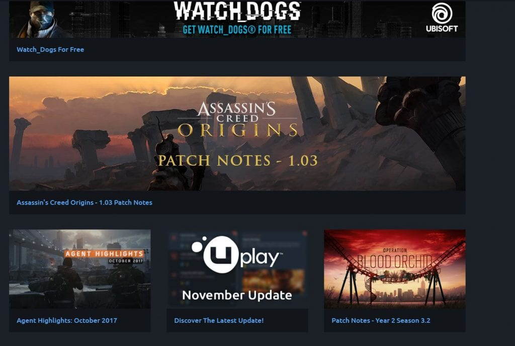 Watch Dogs For Free On Uplay