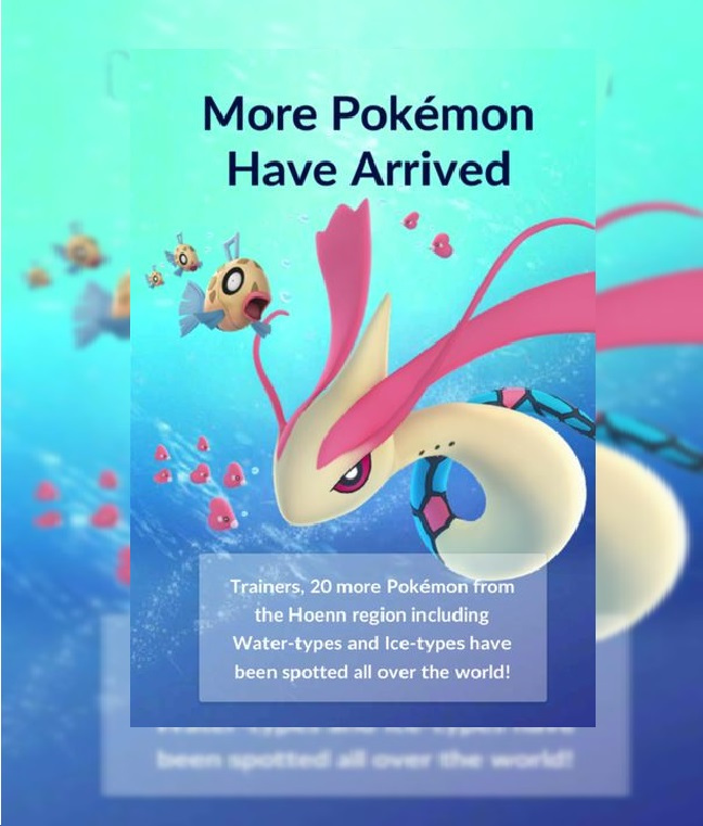 Photo of 20 New Water and Ice Type Gen 3 Pokemon are on the Way