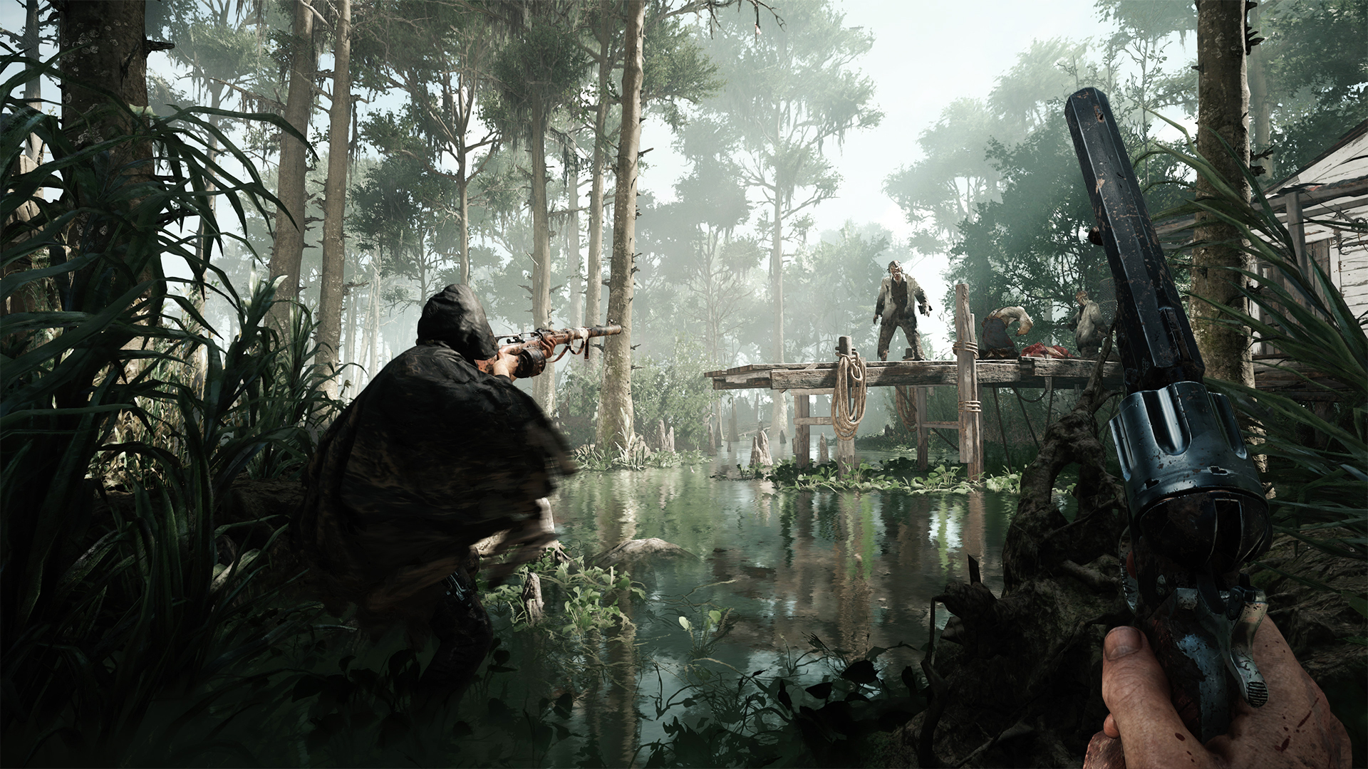 Crytek's PvP/PvE bounty hunting game Hunt: Showdown closed alpha starts soon