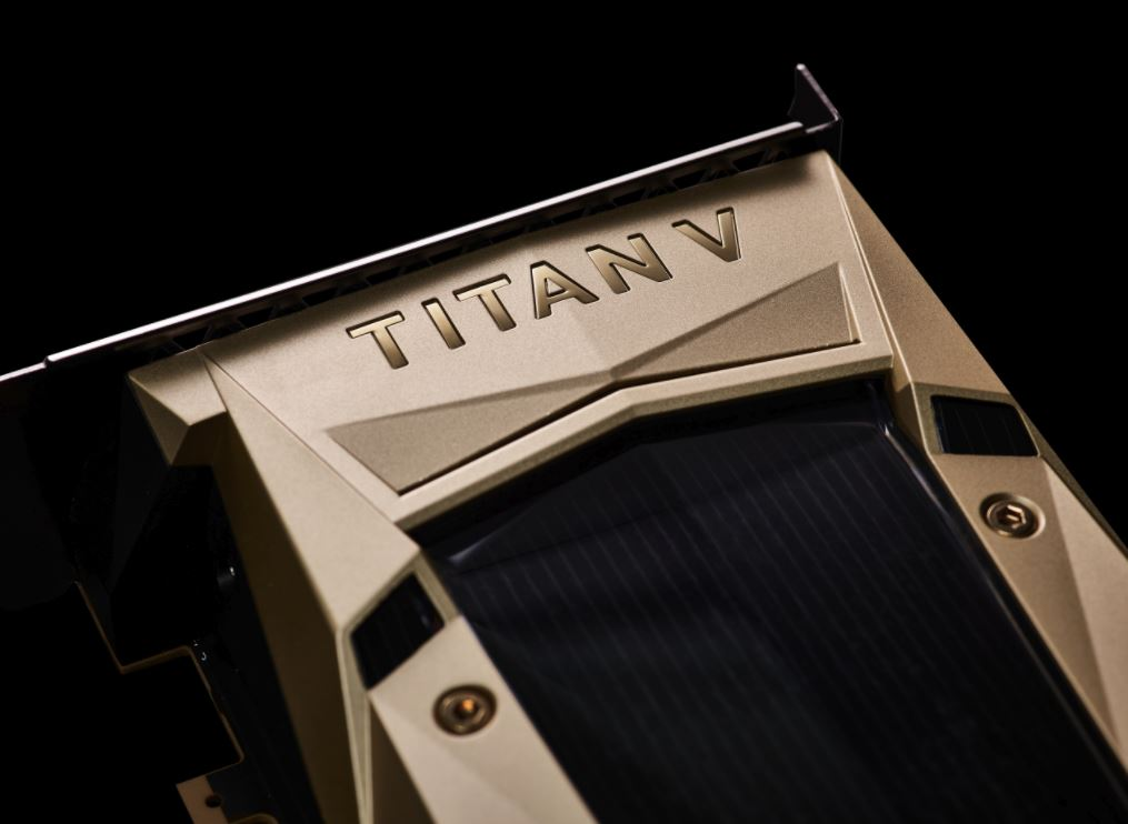 nvidia titan v most powerful gpu