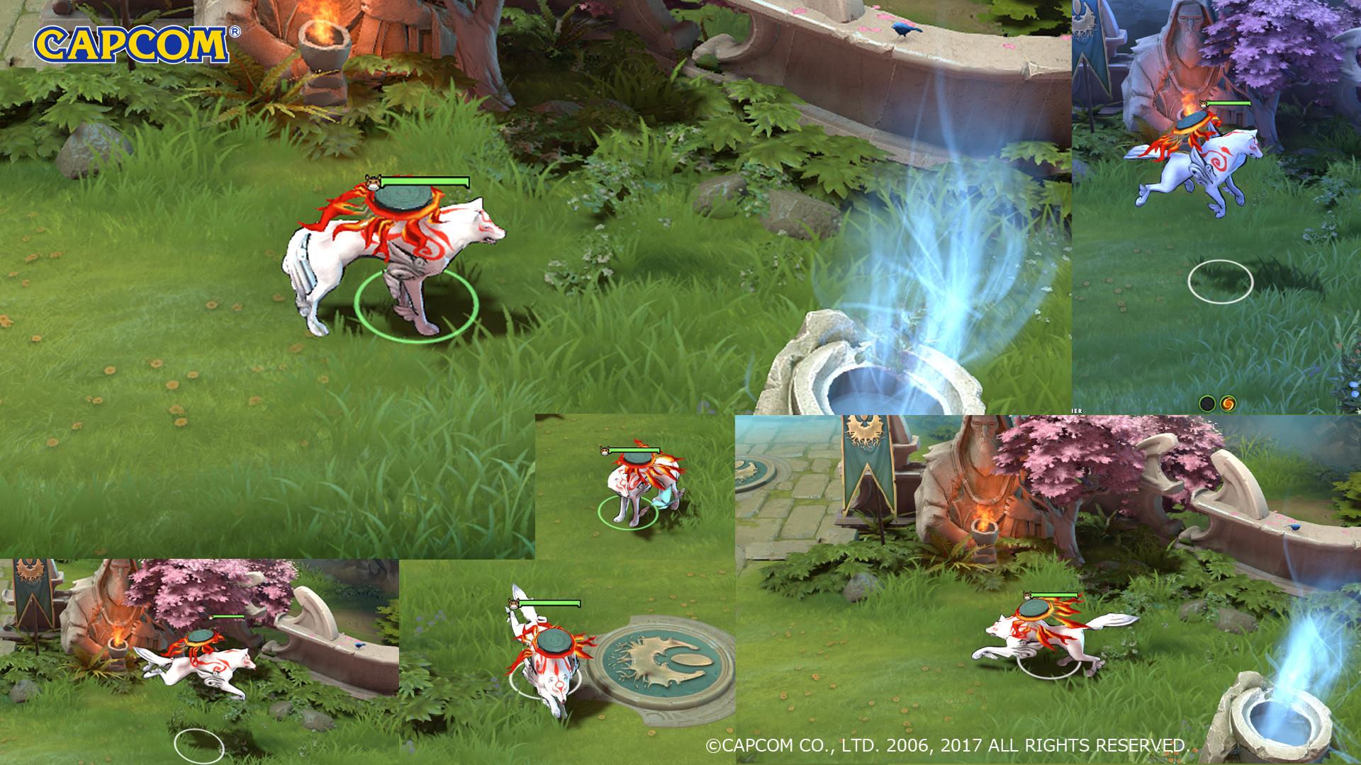 capcom submits amaterasu courier in the dota 2 workshop