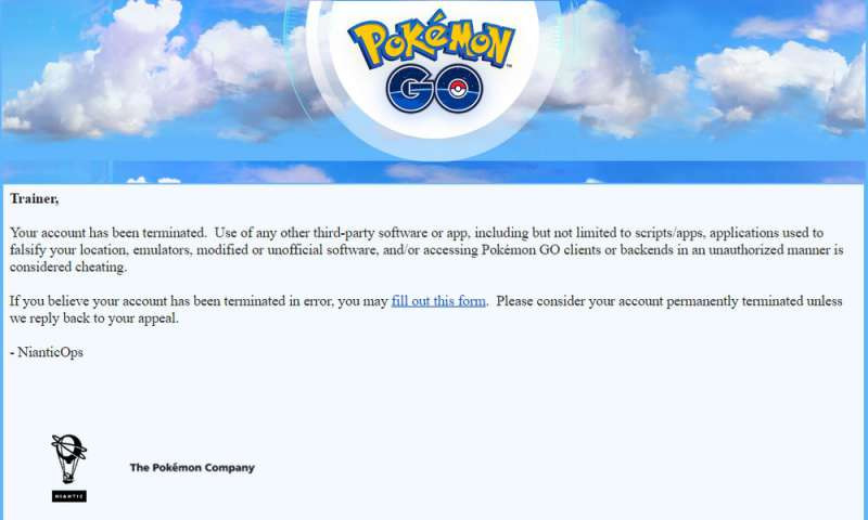 Photo of Niantic Support Confirmed, It's not a Temporary Lock – It's a Permanent Termination