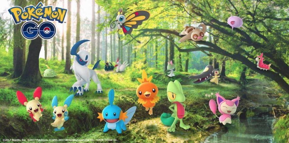 Photo of List of 50 New Gen 3 Pokemon Live Now in Pokemon Go