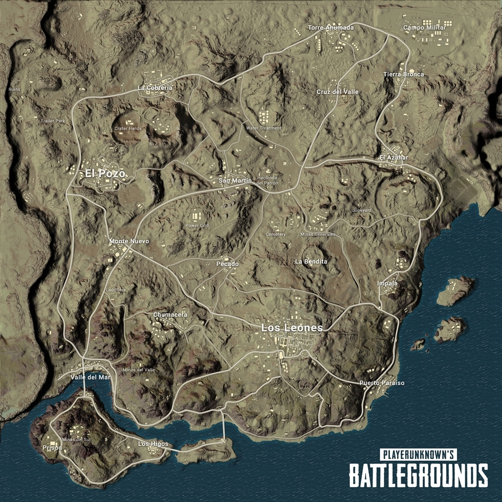 Photo of Bluehole Reveals Miramar, the new Desert Map coming to PUBG, Screenshots Released
