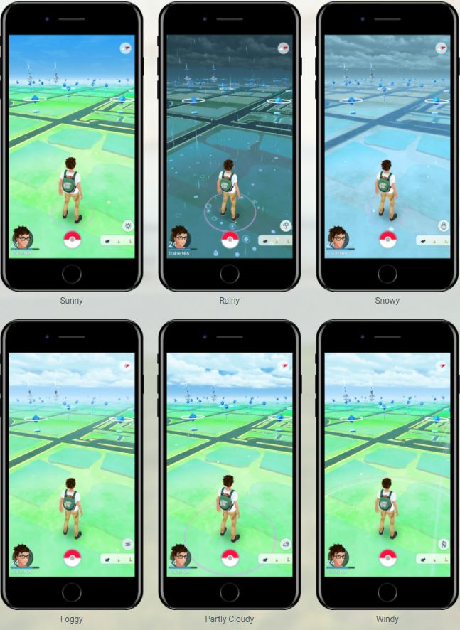 gen 3 now live pokemon go weather system