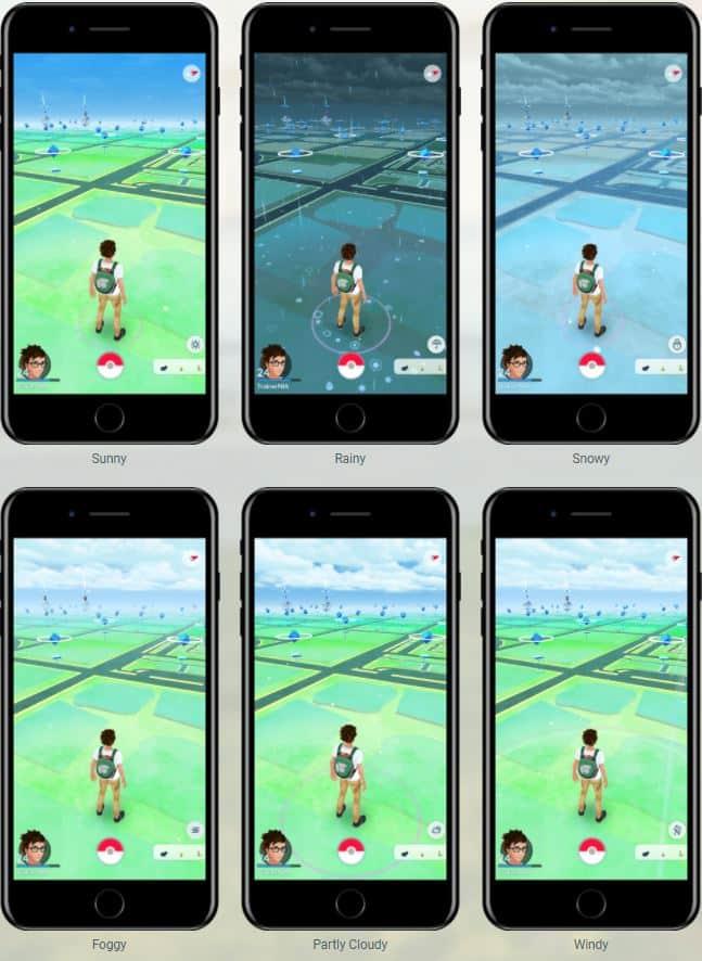 gen 3 now live pokemon go weather system