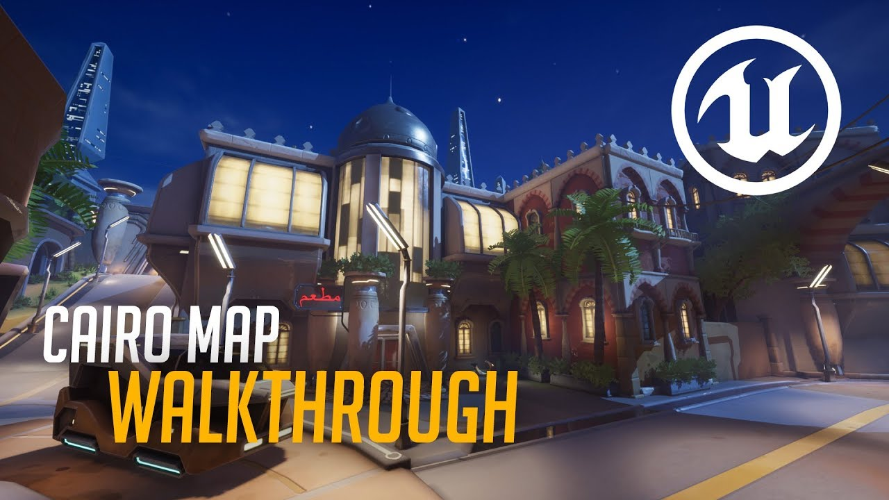Photo of Overwatch might receive a fan-made Cairo map