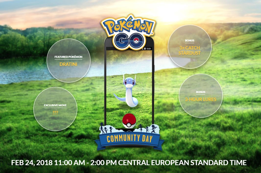 Photo of Community Day No.2 in Pokemon Go Announced, Dratini is the Next Special Pokemon