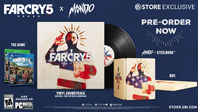 far cry 5 x mondo edition