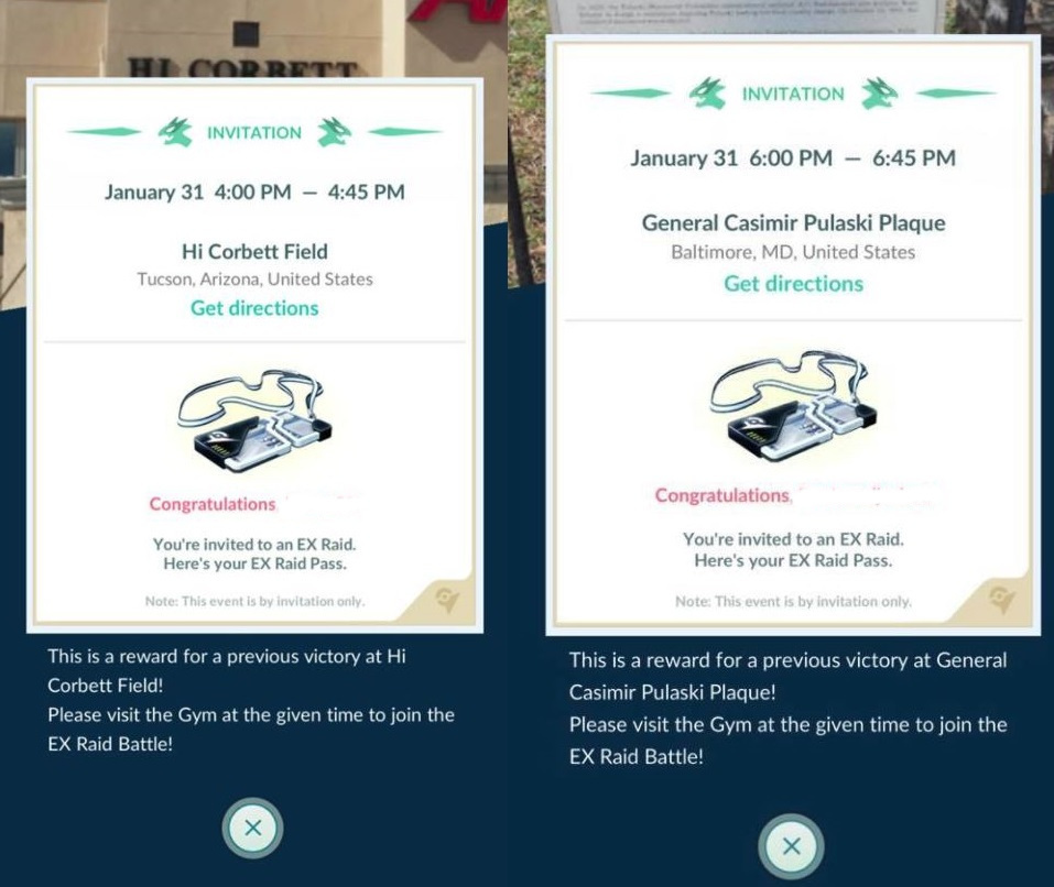 Photo of Pokemon Go New Wave of EX Raid Passes Distributed for January 31