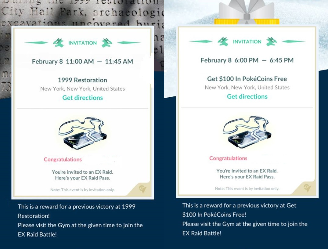 Photo of New Wave of EX Raid Passes Distributed in Pokemon Go, EX Raid set for Feb 8