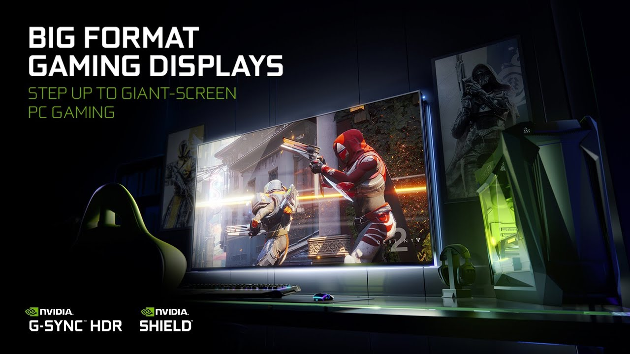 Photo of Nvidia introduces new 65 inches gaming displays with Nvidia G-Sync and Shield