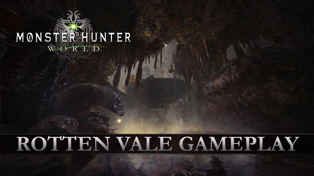 Monster Hunter: World Rotten Vale Gameplay