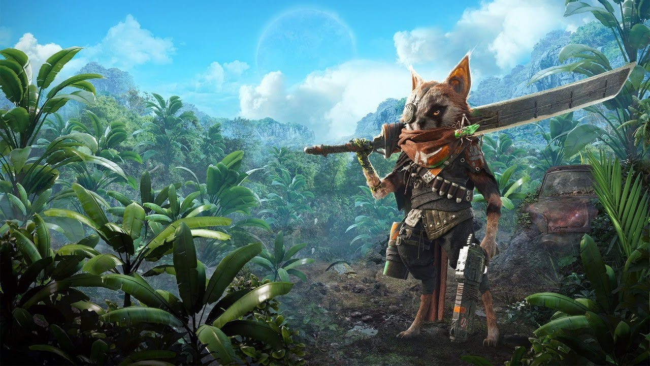 New Biomutant footage shows character creator, combat and movement abilities