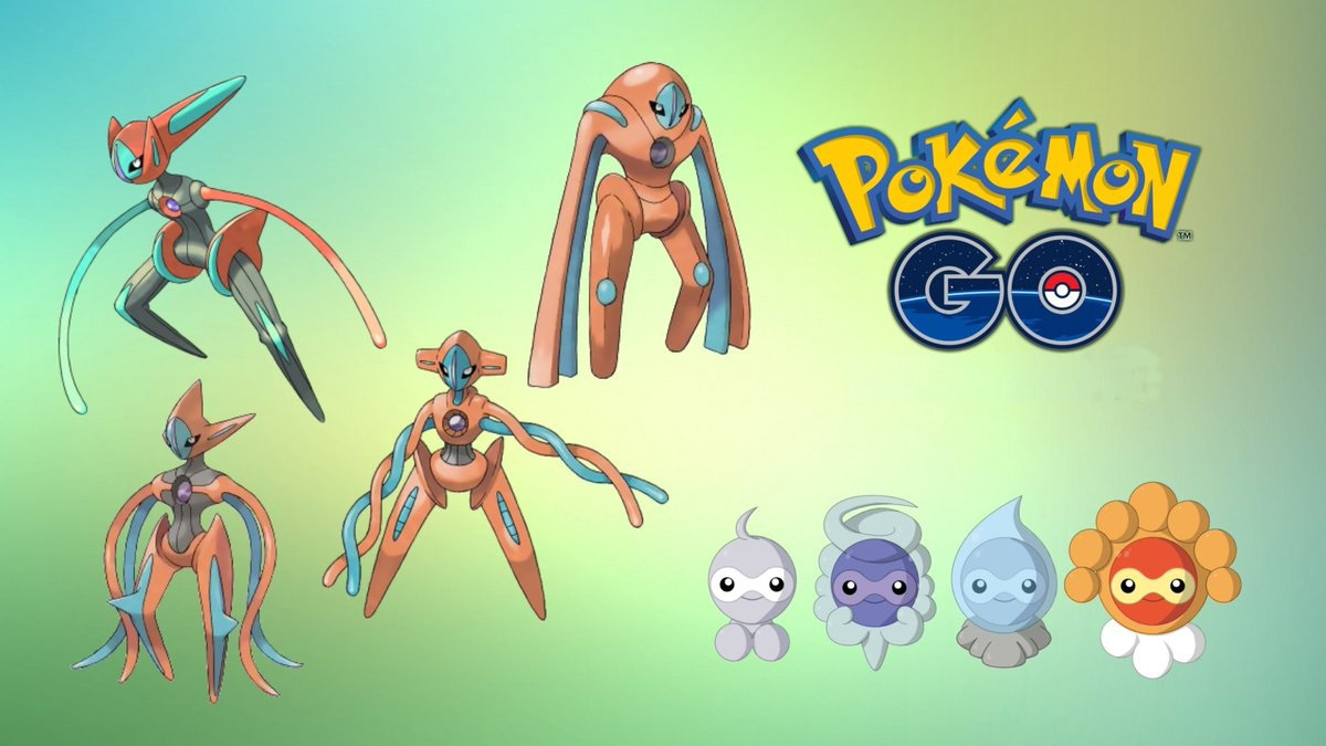 castform deoxys pokemon go release