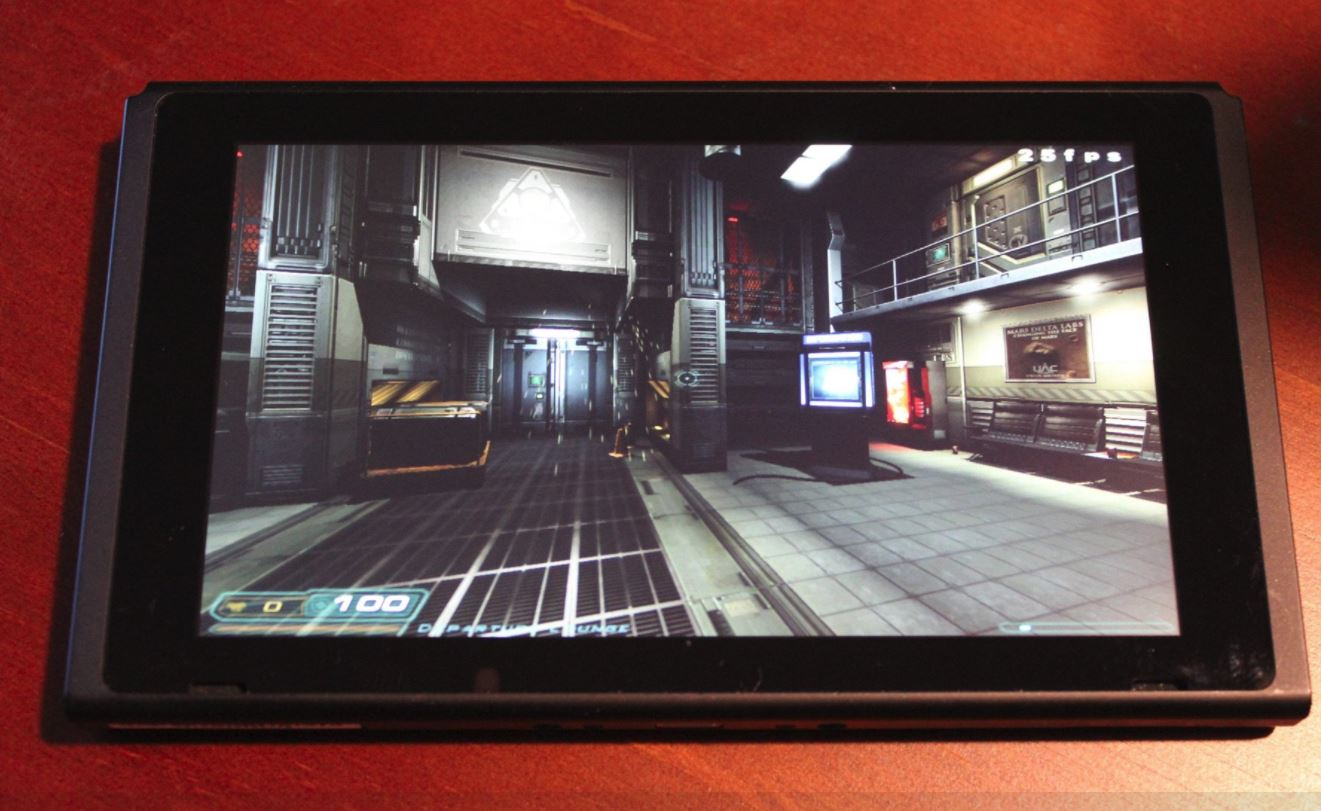 Photo of Hackers Bring DOOM 3 on Nintendo Switch