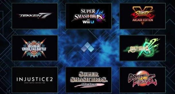 evo 2018 tournament final list games