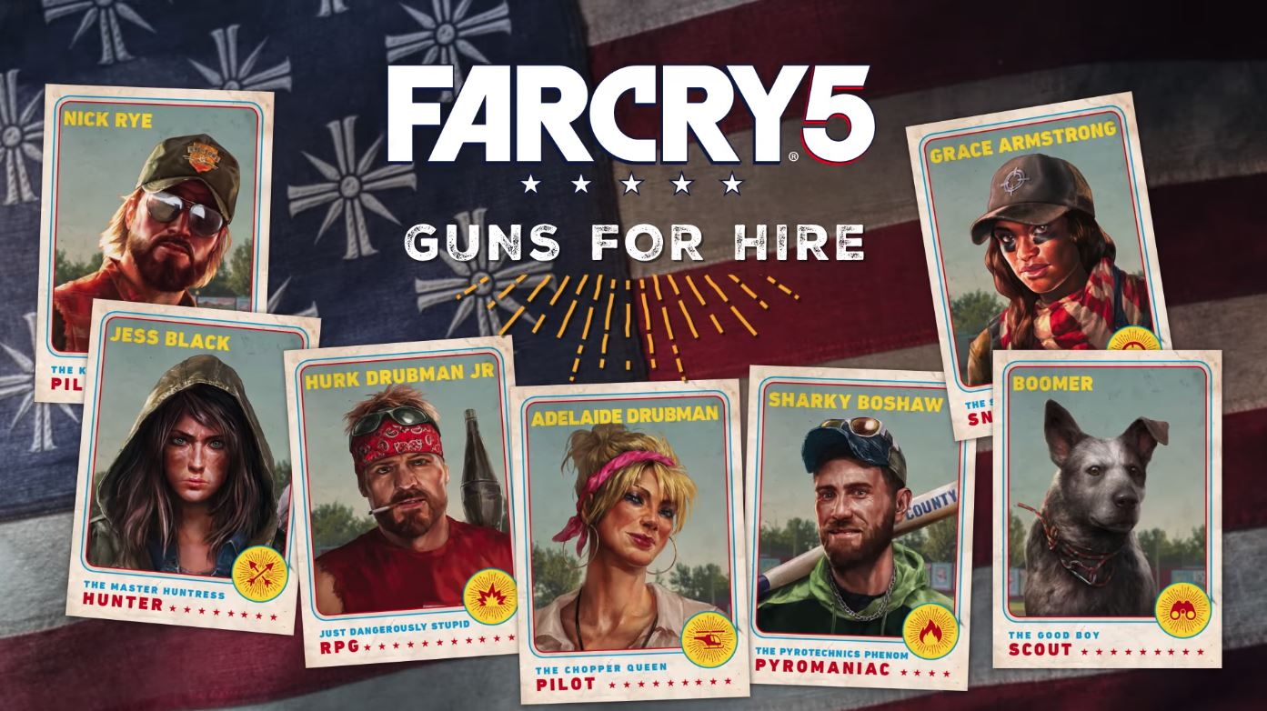 far cry 5 all characters