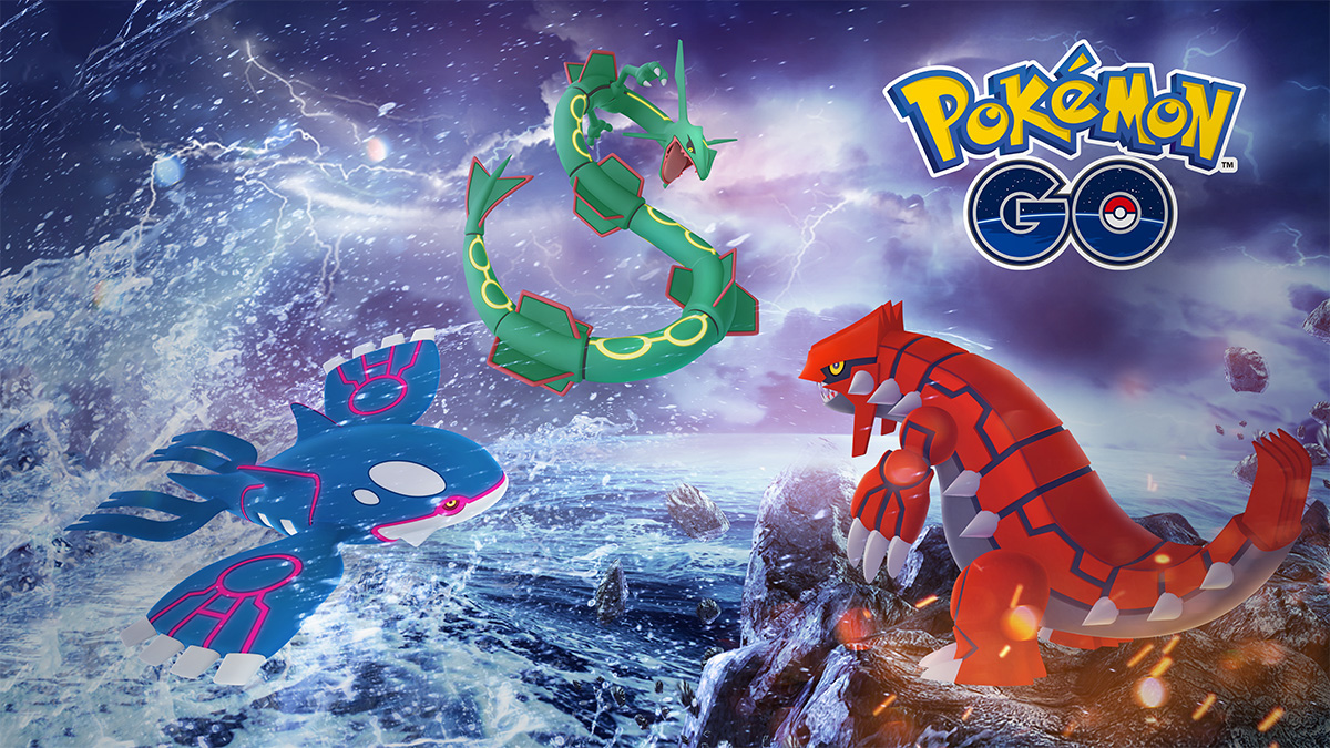 Photo of Kyogre and Groudon are Back in Pokemon Go for a Legendary Week of Raid Battles